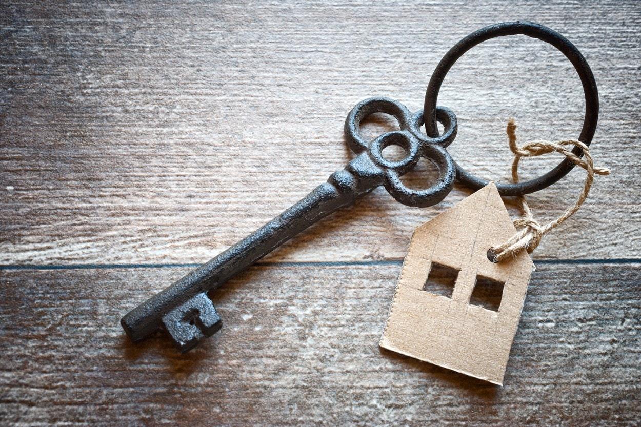 old metal key with symbol of a family house, Image: 304816087, License: Rights-managed, Restrictions: , Model Release: no, Credit line: Profimedia, Michaela Dusíková - ČIF